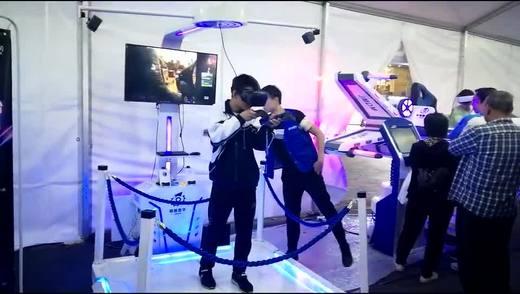 银河幻影VR  Htc互动射击舞台,这小伙专注有潜力
