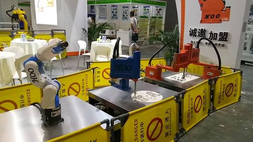 四轴机器人 六轴机器人 国产机器人 智虎机器人