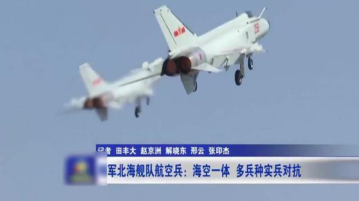 海军北海舰队航空兵:海空一体 多兵种实兵对抗