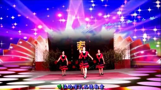 萍乡虎山庙会公益活动广场舞《吉祥藏历年》拍摄 制作 蓝天