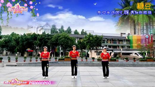 广州太和珍姐广场舞 心跳 含动作分解教学