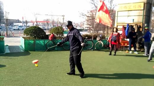 天津空竹 海地唐树海学练