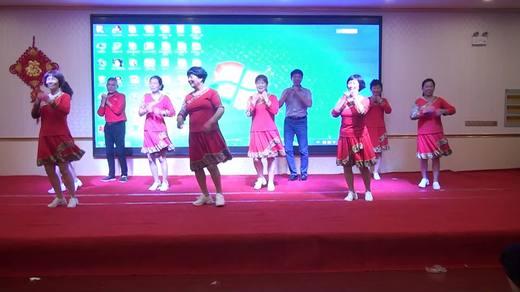 晋北村健身队二周年联谊《心中的阿妹》表演晋北村健身队拍摄陈荣