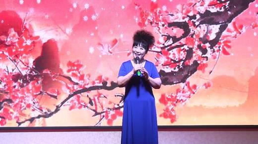 晋北村健身队二周年联谊会《到底人间欢乐多》表演王菊芳拍摄陈荣