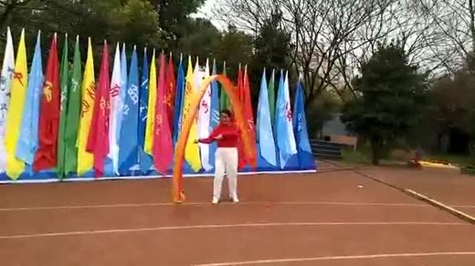 南京秦淮区运动会王平舞小龙