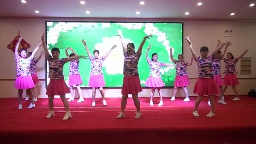 晋北村健身队二周年联谊会《心相印手牵手》云儿健身队拍摄陈荣