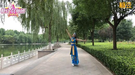 郦影广场舞 蒙古姑娘美 硬腕基础组合练习
