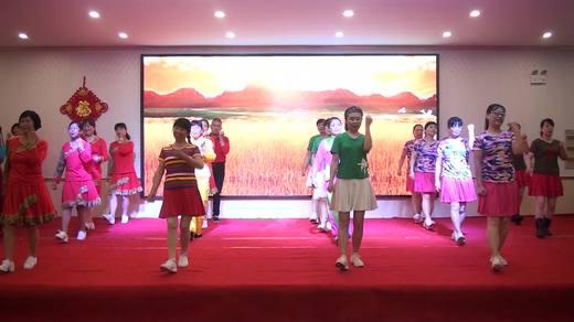 晋北村健身队二周年联谊共舞《最美的中国》拍摄陈荣