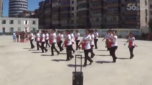 锦州腰鼓队 广场舞初赛