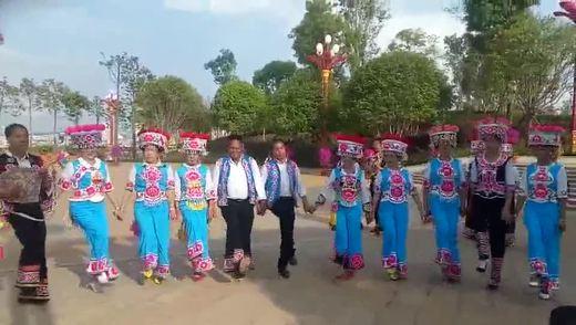 云南 东华影视网 楚雄太阳历民间左脚舞队