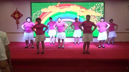 晋北村健身队二周年联谊《红红的日子》表演晋丰队拍摄陈荣
