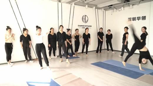 中国舞大师班集训班技巧教学