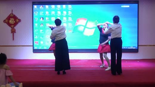 晋北村健身队二周年联谊《探戈》表演万裕小区健身队拍摄陈荣