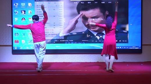 晋北村健身队二周年联谊会《心之寻》表演阳光女孩舞蹈队拍摄陈荣