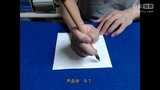 黄简讲书法:初级课程37 永字八法6两种撇(网上学书法)