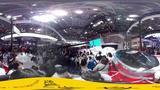 [VR视频]欧文现身北京车展助阵MG当车手