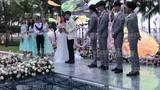 颖儿付辛博婚礼仪式现场 新郎新娘相互深情告白
