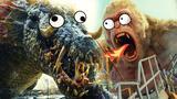 4分钟看完《狂暴巨兽》:三只巨兽疯狂拆家!