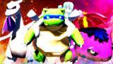 我的世界《神奇宝贝日月》53 御三家彩蛋忍者神龟魔龙王僵尸花MEGA 模组生存 精灵宝可梦