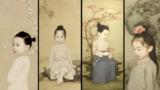 年轻帅爸把女儿画成中式小仙女,美得让人想生小孩!