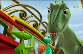 Dinosau Train s01e25 Pteranodon Family World Tour - Gilbert the Junior Conductor