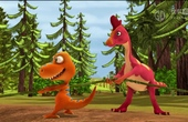 Dinosau Train s01e31 The Wing Kings - The Big Mud Pit