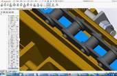 SolidWorks 教程:升降链条输送机组的设计