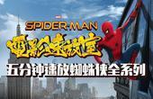 【独播】五分钟速放蜘蛛侠全系列 揭秘历代蜘蛛侠