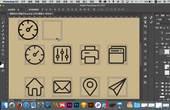 兄弟连UI视频教程-平面设计教程-剪影图标04