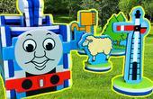 托马斯火车头拼图玩具