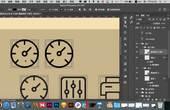 兄弟连UI视频教程-平面设计教程-剪影图标03