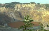 【安徽】航拍华东最大百年矿坑闭坑变身人工湖  曾产2亿吨矿石