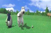 倒霉熊来打高尔夫,它这样进球算打进的吗?