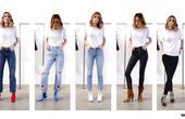 牛仔裤与高跟鞋的5种混搭