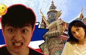我美国女友的泰国旅游!