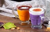 紫薯和南瓜做成颜值超高的饮料,关键是能美容养颜,味道还超好!