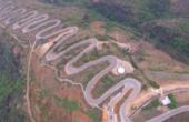 中国最险盘山公路,秒杀秋名山公路凶险至极,68道拐你敢开吗