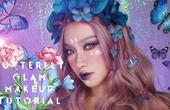 创意妆|闪亮的珠光蝴蝶