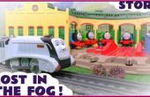 托马斯小火车遇上大雾天气