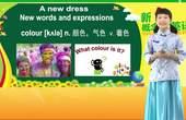 新概念英语第一册 13课1讲 A new dress 少儿英语学习视频 中学英语 伍文凤英语乐园