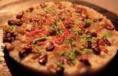 苏州猪油糕形似披萨