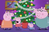 【炫彩简笔画】粉红小猪佩奇动画片佩奇的生日蛋糕宝宝爱涂色亲子小图片