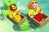 MC服务器速建:游泳池
