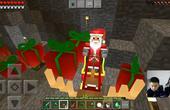 我的世界中国版手游#44:寻找圣诞老人圣诞之夜#1