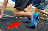 世界5个不可思议的比赛!穿高跟鞋还能跑步?
