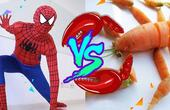 蜘蛛侠VS中二皮皮虾