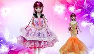 精灵梦叶罗丽娃娃茉莉仙子换装扮过家家玩具图片