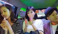 台湾的哥把出租车改造成ktv,乘客美女唱《小a的哥》超好听下载bt美女图片