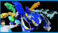 魔幻车神变身超级恐龙机器人   凯文和游戏 kevinandplay