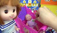 过道亲子屋娃娃公主玩具马车和朋友商场内玩具店婴儿v过道图片